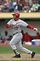 Edgardo Alfonzo, of the Los Angeles Angels , during their game against the Oakland A's  on April 23, 2006 in Oakland...A's win 4-3..Rob Holt / SportPics