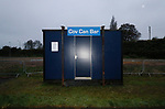 Coventry United 3 Highgate United 5, 17/10/2017. Butts Park Arena, Birmingham Senior Cup. A drinks outlet at the Butts Park Arena.  Photo by Paul Thompson.