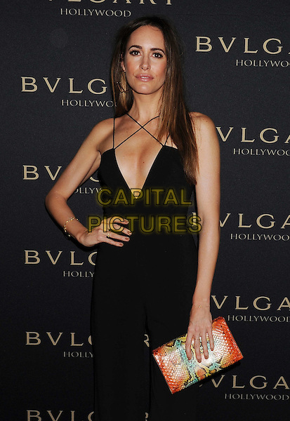 WEST HOLLYWOOD, CA- FEBRUARY 25: TV personality Louise Roe arrives at the BVLGARI 'Decades Of Glamour' Oscar Party Hosted By Naomi Watts at Soho House on February 25, 2014 in West Hollywood, California.<br /> CAP/JOR<br /> &copy;Nils Jorgensen/Capital Pictures