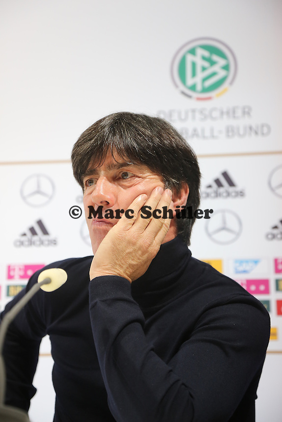 Bundetrainer Joachim Löw (D) - WM Qualifikation 9. Spieltag Deutschland vs. Irland in Köln