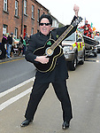 Frank Godfrey at the Drogheda St Patrick's day parade. Photo:Colin Bell/pressphotos.ie