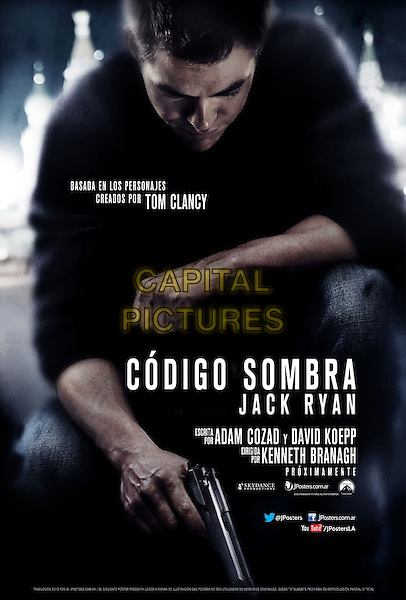 POSTER ART<br /> in Jack Ryan: Shadow Recruit (2014) <br /> *Filmstill - Editorial Use Only*<br /> CAP/NFS<br /> Image supplied by Capital Pictures