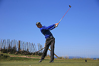 Bobby Keeble during Round Two of the West of England Championship 2016, at Royal North Devon Golf Club, Westward Ho!, Devon  23/04/2016. Picture: Golffile | David Lloyd<br /> <br /> All photos usage must carry mandatory copyright credit (&copy; Golffile | David Lloyd)