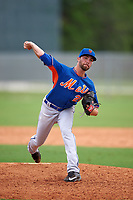 New York Mets Craig Missigman (21) during a minor league Spring Training game against the St. Louis Cardinals on March 31, 2016 at Roger Dean Sports Complex in Jupiter, Florida.  (Mike Janes/Four Seam Images)