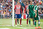 Atletico de Madrid's Fernando Torres and Nacho and Real Betis's Fabian and R. Castro during BBVA La Liga match. April 02,2016. (ALTERPHOTOS/Borja B.Hojas)