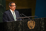 Cuba<br /> <br /> General Assembly 70th session 32nd plenary meeting<br /> Report of the Secretary-General on the work of the Organization: report of the Secretary-General (A/70/1) [item 109]