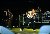 Linkin Park - Chester Bennington -  performing live during Ozzfest 2001 in Tindley Park, Illinois.USA - Jun 8, 2001.  Photo credit:  Gene Ambo/IconicPix