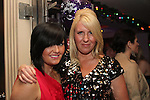 Michelle Woods and Julie Pope celebrating New Years Eve in Barocco...(Photo credit should read www.newsfile.ie)....This Picture has been sent you under the conditions enclosed by:.Newsfile Ltd..The Studio,.Millmount Abbey,.Drogheda,.Co Meath..Ireland..Tel: +353(0)41-9871240.Fax: +353(0)41-9871260.GSM: +353(0)86-2500958.email: pictures@newsfile.ie.www.newsfile.ie.