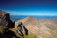 Stob Dearg (Taynuilt Peak), Mull and Loch Linnhe from the Munro of Ben Cruachan, Argyll & Bute