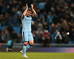 Frank Lampard of Manchester City - Barclays Premier League - Manchester City vs Newcastle Utd - Etihad Stadium - Manchester - England - 21st February 2015 - Picture Simon Bellis/Sportimage