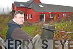 DEVELOPMENT: James Adams of the Kerry Branch of Autism at the new Autism development in Ballyseedy.   Copyright Kerry's Eye 2008