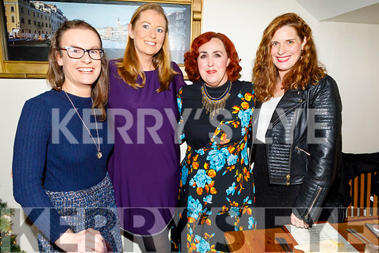 Ciara O'Callaghan, Colette McEnery, Rebecca Roche and Anna Curtin enjoying the evening in Bella Bia on Friday..