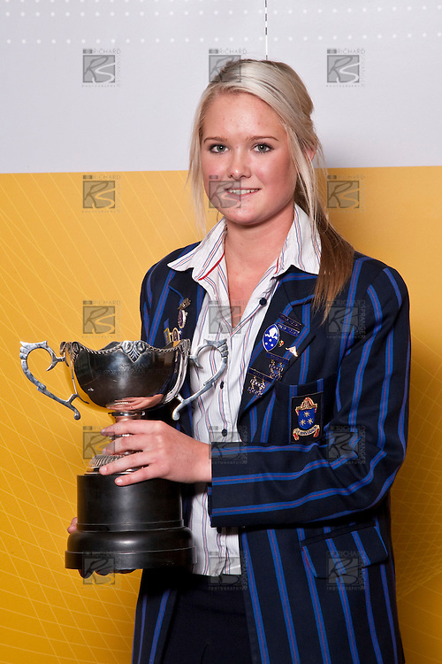 Samantha Harrison (Hockey) is the Girls Overall Young Sports Person of the Year 2009. ASB College Sport Auckland Secondary School Young Sports Person of the Year Awards held at Eden Park on Thursday 12th of September 2009.