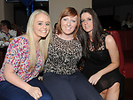 Emma Smith, Louise Arkins and sarah Murphy pictured at Shane Everitt's birthday in Brú. Photo:Colin Bell/pressphotos.ie