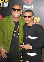 MIAMI, FL - NOVEMBER 5: Gente de Zona at iHeartRadio Fiesta Latina 2016 at The American Airlines Arena on November 5, 2016. Credit: mpi04/MediaPunch