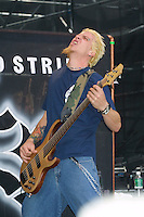 3rd Strike performing at the K-Rock Dysfunctional Family Picnic at Jones Beach Theater in New York on June 8, 2002. Photo by Jen Lombardo/PictureGroup