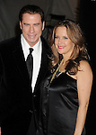 HOLLYWOOD, CA - January 22: John Travolta and Kelly Preston arrive at the G'Day USA Australia Week 2011 Black Tie Gala at the Hollywood Palladium on January 22, 2011 in Hollywood, California.
