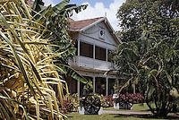 France/DOM/Martinique/Sainte-Marie/Distillerie Saint-James: Le musée du rhum - Maison coloniale