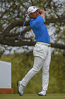 Yusaku Miyazato (JAP) watches his tee shot on 10 during day 3 of the World Golf Championships, Dell Match Play, Austin Country Club, Austin, Texas. 3/23/2018.<br /> Picture: Golffile | Ken Murray<br /> <br /> <br /> All photo usage must carry mandatory copyright credit (&copy; Golffile | Ken Murray)