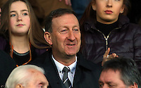 Swansea City chairman Huw Jenkins during the Barclays Premier League match between Swansea City and West Ham United played at The Liberty Stadium, Swansea on 20th December 2015