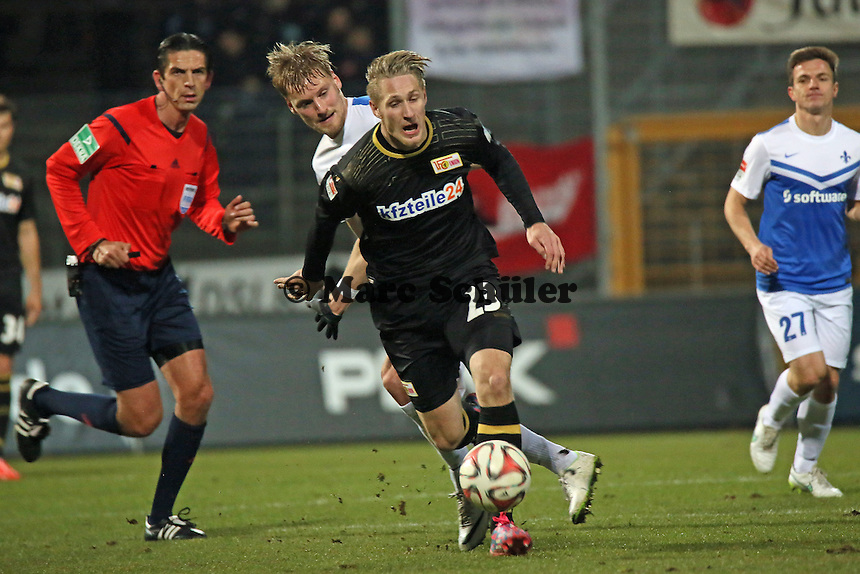 Sebastian Polter (Union) - SV Darmstadt 98 vs. 1. FC Union Berlin, Stadion am Boellenfalltor