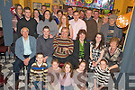 Seamus O'Sullivan, Killorglin, pictured with family and friends as he celebrated his 60th birthday in O'Grady's bar, Killorglion, on Saturday night.....   Copyright Kerry's Eye 2008