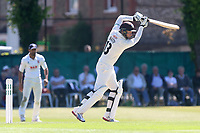Gareth Batty hits four runs for Surrey during Surrey CCC vs Essex CCC, Specsavers County Championship Division 1 Cricket at Guildford CC, The Sports Ground on 10th June 2017