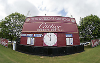 General View at The Guards Polo Club during the Cartier Queens Cup Final match between King Power Foxes and Dubai Polo Team at the Guards Polo Club, Smith's Lawn, Windsor, England on 14 June 2015. Photo by Andy Rowland.