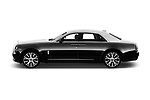 Car Driver side profile view of a 2018 Rollsroyce Ghost - 4 Door Sedan Side View