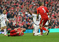 Barclays Premiere League, Liverpool FC V Swansea City, Anfield, 05/11/11<br /> Picture by: Ben Wyeth