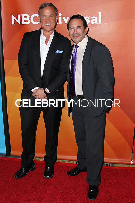PASADENA, CA, USA - APRIL 08: Dr. Terry J. Dubrow, Dr. Paul S. Nassif at the NBCUniversal Summer Press Day 2014 held at The Langham Huntington Hotel and Spa on April 8, 2014 in Pasadena, California, United States. (Photo by Xavier Collin/Celebrity Monitor)