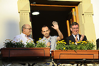 2012.07.22 Andres Iniesta en Fuentealbilla,Albacete,Spain