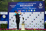 Daxing Jin of China tees off on the 1st hole during the Round 1 of the Faldo Series Asia Grand Final at Mission Hills on March 2, 2011 in Shenzhen, China. Photo by Raf Sanchez / Faldo Series