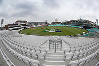 A general view of the Oval during India vs New Zealand, ICC World Cup Warm-Up Match Cricket at the Kia Oval on 25th May 2019