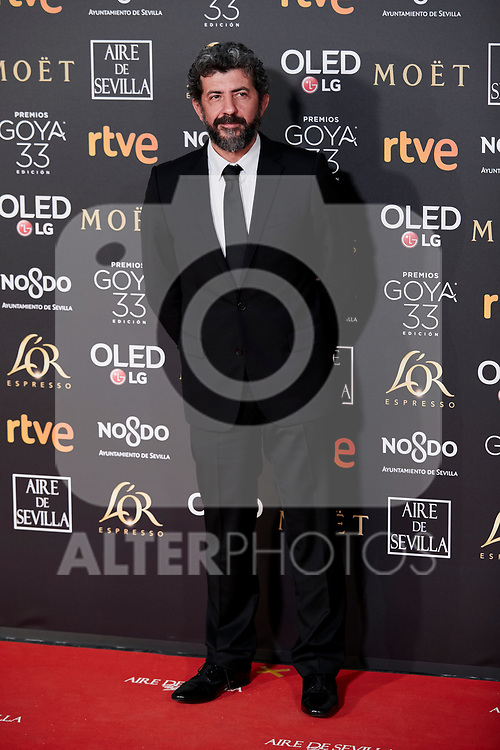 Alberto Rodriguez attends to 33rd Goya Awards at Fibes - Conference and Exhibition  in Seville, Spain. February 02, 2019. (ALTERPHOTOS/A. Perez Meca)