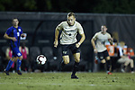 Alistair Johnston (8) of the Wake Forest Demon Deacons chases after the ball during first half action against the Duke Blue Devils at W. Dennie Spry Soccer Stadium on September 29, 2018 in Winston-Salem, North Carolina.  The Demon Deacons defeated the Blue Devils 4-2.  (Brian Westerholt/Sports On Film)