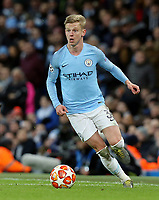Manchester City's Oleksandr Zinchenko<br /> <br /> Photographer Rich Linley/CameraSport<br /> <br /> UEFA Champions League Round of 16 Second Leg - Manchester City v FC Schalke 04 - Tuesday 12th March 2019 - The Etihad - Manchester<br />  <br /> World Copyright &copy; 2018 CameraSport. All rights reserved. 43 Linden Ave. Countesthorpe. Leicester. England. LE8 5PG - Tel: +44 (0) 116 277 4147 - admin@camerasport.com - www.camerasport.com