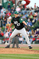 June 17th 2008:  David Bromberg of the Beloit Snappers, Class-A affiliate of the Minnesota Twins, during the Midwest League All-Star Game at Dow Diamond in Midland, MI.  Photo by:  Mike Janes/Four Seam Images
