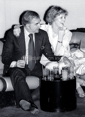 1978 <br /> New York City<br /> Ed McMahon &amp; wife Victoria at Studio 54<br /> Credit: Adam Scull-PHOTOlink/MediaPunch