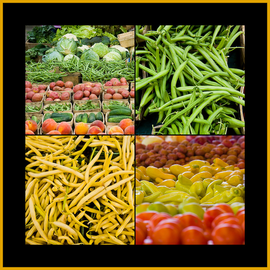 Fresh Food - Veggies, Square Crop