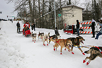 Mitch Seavey on Cordova St. hill during the Anchorage start day of  Iditarod 2018<br /> <br /> Photo by Trent Grasse /SchultzPhoto.com  (C) 2018  ALL RIGHTS RESERVED