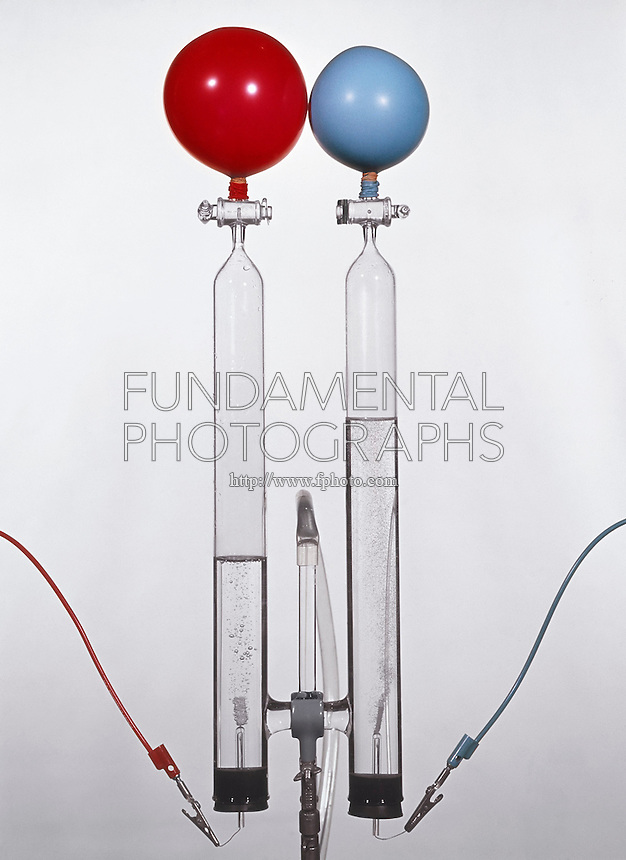 ELECTROLYSIS OF WATER: HOFFMAN APPARATUS<br />