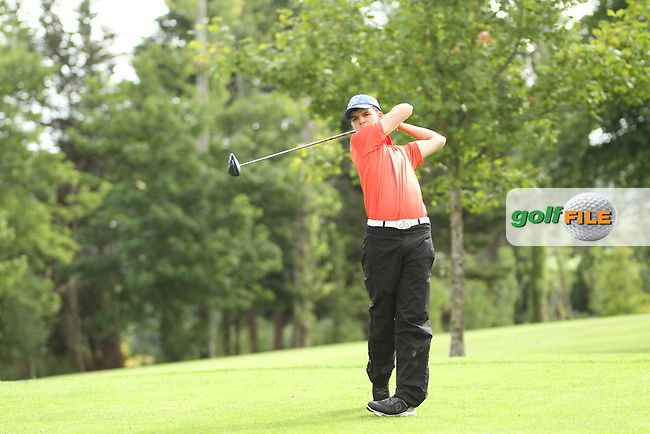 Michael O'Farrell (Galway) on the 13th tee during the final round of the Munster Boys Open Championship, Mallow Golf Club, Mallow, Co. Cork<br /> Picture: Golffile   Niall O'Shea