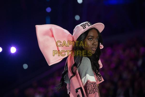 Zuri Tibby <br /> Victoria's Secret Fashion Show at the  Grand Palais, Paris, France on 30th November 2016.<br /> CAP/GOL<br /> &copy;GOL/Capital Pictures