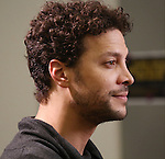Justin Guarini attend the photo Call for 'InTransit' at The New 42nd Street Studios on October 27, 2016 in New York City.
