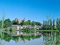 France, Brittany, Département Ille-et-Vilaine, Combourg: Château de Combourg | Frankreich, Bretagne, Département Ille-et-Vilaine, Combourg: Château de Combourg