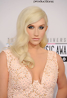 LOS ANGELES, CA - NOVEMBER 18: Ke$ha at The 40th Annual American Music Awards at The Nokia Theater LA Live, in Los Angeles, California. November 18, 2012. Photo by: MPI99 / MediaPunch Inc NortePhoto