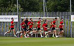 Sheffield Utd players during the training session at the Shirecliffe Training complex, Sheffield. Picture date: June 27th 2017. Pic credit should read: Simon Bellis/Sportimage