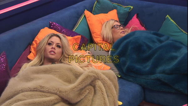Celebrity Big Brother 2017<br /> Bianca Gascoigne, Nicola McLean  <br /> *Editorial Use Only*<br /> CAP/KFS<br /> Image supplied by Capital Pictures