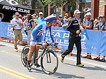 "August 121, 2015 - Breckenridge, Colorado, U.S. -  Twenty 16 rider, Kristin Armstrong, following her time trial victory during the inaugural women's edition of the U.S. Pro Cycling Challenge, Breckenridge, Colorado.  Known as ""America's Race,"" the USA Pro Challenge takes place August 17-23, 2015 and for the first time will highlight women's cycling through an inaugural  three-day invitation-only event that will feature many of the USA's top women cyclists."